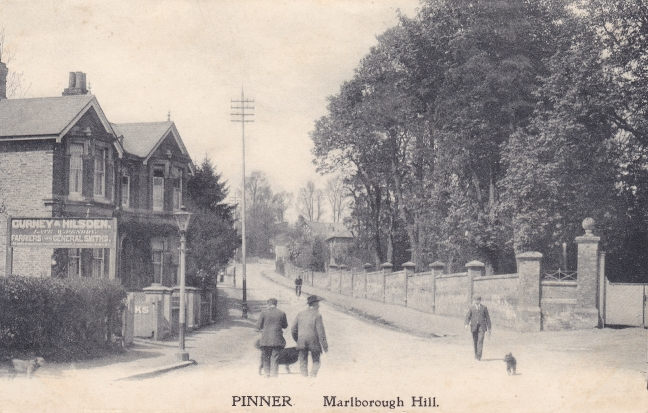 Malborough Hill - now Bridge Street - 1902