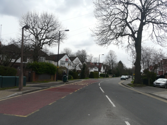 Cannon Lane near the junction with Eastcote Road 2013