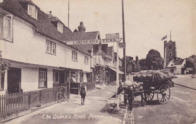 The Queens Head cica 1921